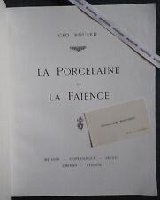 Rare Catalogue GEO. ROUARD Porcelaine Verre Meubles Gallé Robalbhen ART NOUVEAU