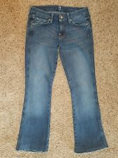 7 FOR ALL MANKIND - A Pocket womens Bootcut jeans - size 26 - 27 x 27 -- Seven
