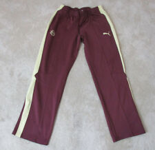 Puma NOYMA Track Pants Size Adult Extra Large Red Maroon Yellow Warm Up Mens