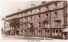 Bell Hotel THF Leicester unused RP old PC Photochrom for Trust Houses Ltd