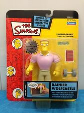 Simpsons Series 11 figure - Playmates - Rainier Wolfcastle
