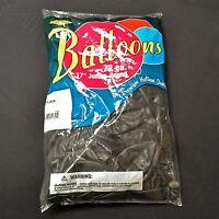 "Black Balloons - 72 Pack Tuf Tex 17"" Jumbo Round Latex Balloons"