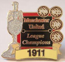 MANCHESTER UNITED Victory Pins 1911 LEAGUE CHAMPIONS Badge Danbury Mint