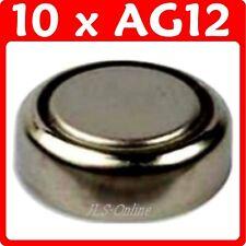 10 Alkaline Button Cell 1.5V Batteries AG12 386 LR43