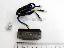 Mini Micro LED Rücklicht Malibu schwarz Streetfighter universal tail light