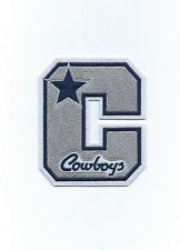 """Vintage 1980s Dallas Cowboys Star Letter Patch 4"""" x 3 1/4"""" (sew or iron on)"""