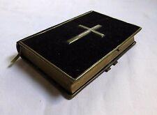Altes Gesangbuch (1883) Samtiger Einband mit Metallrahmen / Goldschnitt - Berlin