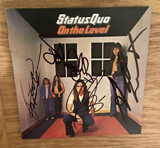 More details for status quo  -  on the level  -  fully signed   cd  -  rock  -   uacc rd