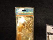 15' Swag Light Kit Westinghouse Kit#70470 Brass Color