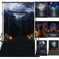 Halloween Studio Cloth Photography Background Photo Backdrop Party Wall Props
