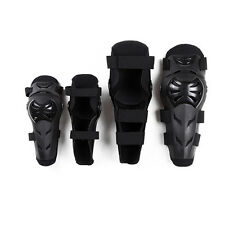 Motorcycle Motocross Adult Elbow Knee Shin Protector PE Shells Guard Armor Pads