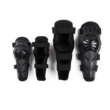 Motorcycle Motocross Adult Elbow Knee Shin Protector PE Shells Guard Armor Pads