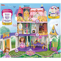 Disney Sofia the First Enchancian Castle 3' Tall Doll House Lights & Sounds NEW!
