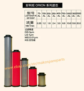 Filter Replaces ORION LSF200