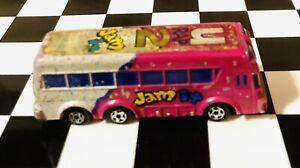 🏁 Micro Machines Galoob Vintage 1989 (U Rap 2 Jam It ) Touring Bus 🏁