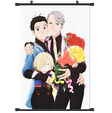 New Anime Yuri On Ice Yuri!!! on Ice Victor Poster Wall Scroll cosplay 2974