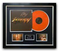 POST MALONE HAND SIGNED FRAMED VINYL DISPLAY - STONEY LP - PROOF.