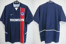 2002-2003 PSG Paris Saint Germain Home Jersey Shirt Maillot Thomson Nike Japan L