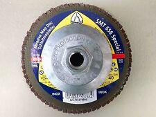 Klingspor SMT656 Special Abrasive Mop Flap Disc 115mm 4 1/2 x5/8-11 Hub Grit 40