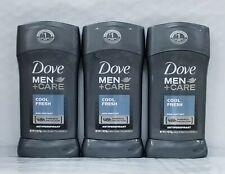 Lot Of 3 - Dove Men+Care Cool Fresh Deodorant Antiperspirant 2.7oz-EACH