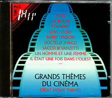 GRANDS THEMES DU CINEMA - GREAT MOVIE THEMES - CD COMPILATION [249]