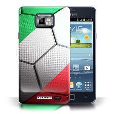 Stuff4 Hülle/Case für Samsung Galaxy S2/SII/Italien/Fußball Nationen
