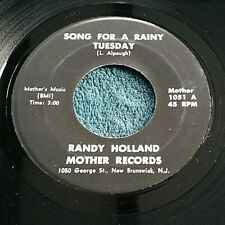 Randy Holland - Cat Mind/Song for... 45 private press acid folk rock HEAR