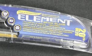 Windshield Wiper Blade-Element Premium Vision OE20