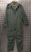 Genuine British Military Issued Flight Green Coverall Air Crew / Flight Suit