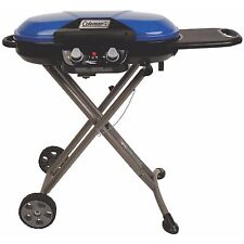 Coleman X-Cursion Collapsible Portable Propane Grill, Blue | 2000017461