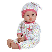"""Adora Playtime Baby Dot 13"""" Washable Soft Body Play Doll for Children 12 Month"""
