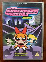 Powerpuff Girls Film DVD 2002 Cartoon Network Animato Feature Noleggio Versione