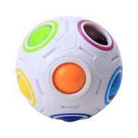Pop Rainbow Magic Ball Plastic Cube Twist For Children's Educational Toy FD18