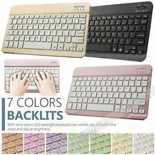 """Backlit Wireless Keyboard For iPad 10.2"""" 6th 9.7"""" Air 10.5"""" Pro 11"""" 12.9"""" Tablet"""