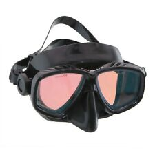 Red or Yellow Color Tinted Corrective Scuba Dive Snorkeling Spearfishing Mask