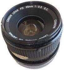 Canon Manual Focus Camera Lens