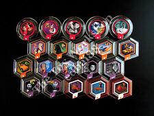 Disney Infinity 1.0 Complete Set of 20 Wave 2 Power Discs, New and Unused