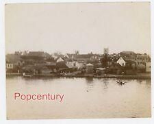 Nassua Bahamas 1902 Photograph Albumen Photo Waterfront Christ Church Wharf