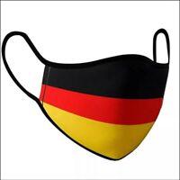 Stoffmaske Flagge Deutschland BRD Mundschutz Nasenschutz Behelfsmaske Maske
