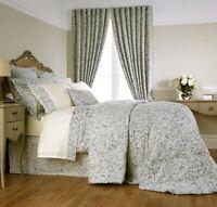 Christy Camelia Seafoam Curtains 66x72