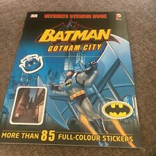 NEW, ULIMATE STICKER BOOK. BATMAN GOTHAM CITY. 85 STICKERS. 9781409338772
