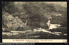 137.-BARCELONA - 20 Tibidabo - Cruce del Funicular (L.Roisini)