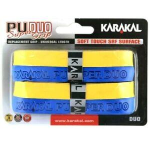 Grip tape for sports equipment Karakal PU DUO Super Grip, pack of 2