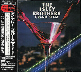The Isley Brothers - Grand Slam ( CD) JAPAN W/OBI SRCS-6124