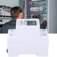 DDS2626 2P Single Phase Electronic Energy Meter Digital Din-rail KWH Power METER