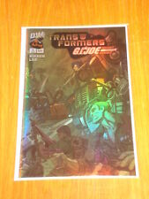 TRANSFORMERS G.I.JOE #1 DREAMWAVE COMICS CHROME CVR AUGUST 2003