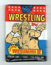 1987 Topps WWF Wrestling Sealed Wax Pack Hulk Hogan ??