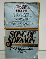 Song of Solomon by Morrison, Toni 1977 Edition