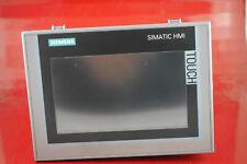 Siemens Simatic HMI 6AV2124-0GC01-0AX0 Comfort Panel