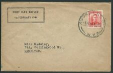 NEW ZEALAND 1944 GVI 1½d Red on commem FDC - ACS cat NZ$75.................40503